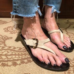 Stephane Kelian suede sandal